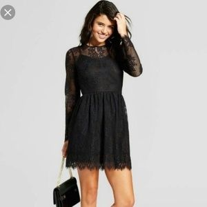 Xhilaration Tops - Fashion  women  black long sleeve lace